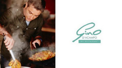 Gino D'Acampo and Next sign in-store restaurant deal