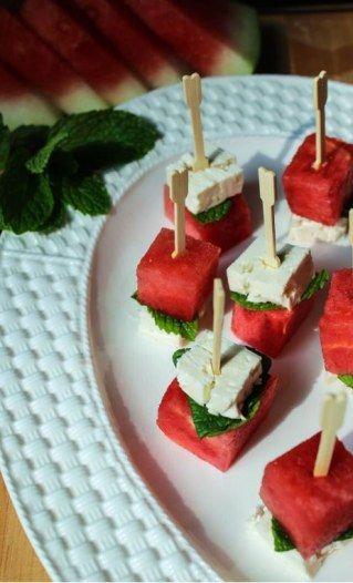 Wassermelonen-Sticks