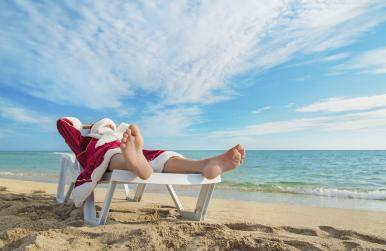 Santa will be in Rhodes this Summer! Earn a 10% discount www.antonogloubeachvillas.co