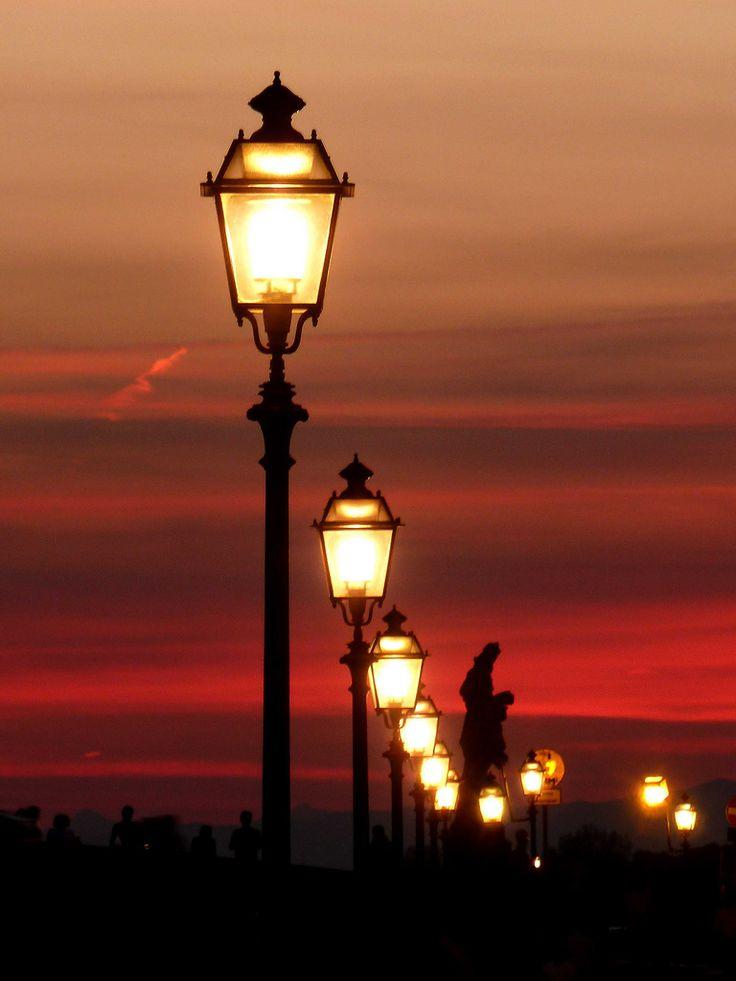 Beautiful sunset,Florence,Tuscany, Italy