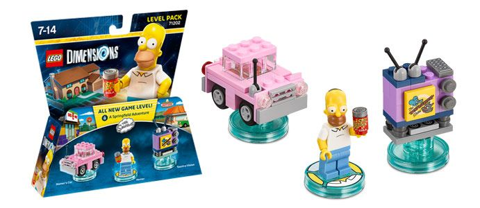 LEGO Dimensions Level Pack - The Simpsons - EB Games New Zealand