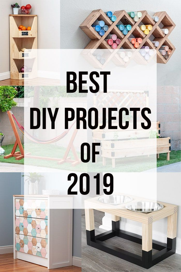 Top Diy Projects Of 2019 Reader Favorites Easy Woodworking Projects Woodworking Project Design Woodworking