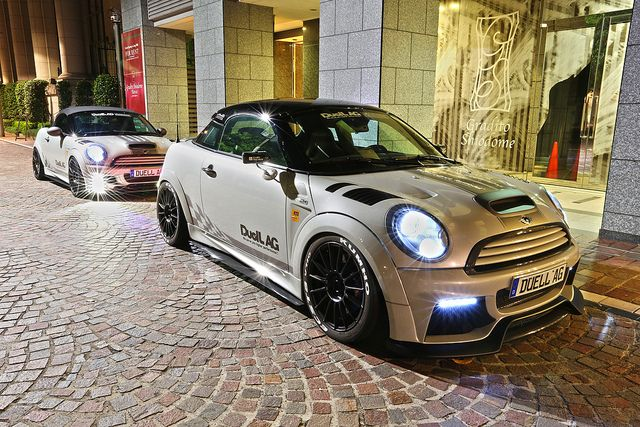 """Superturismo LM23 17"""" (Special Edition for Duell AG) on Mini Cooper S JCW GP Version by Duell AG from Japan  #mini"""