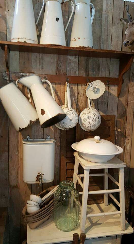 Ich liebe alte Küchenutensilien ♥ shabby chic ♥ I love old kitchenware