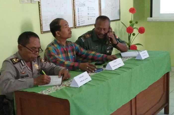 Kanit Binmas Magelang Selatan Hadiri undangan Kordinasi Lintas Sektoral bahas persiapan penilaian akreditasi puskesmas Jurangombo