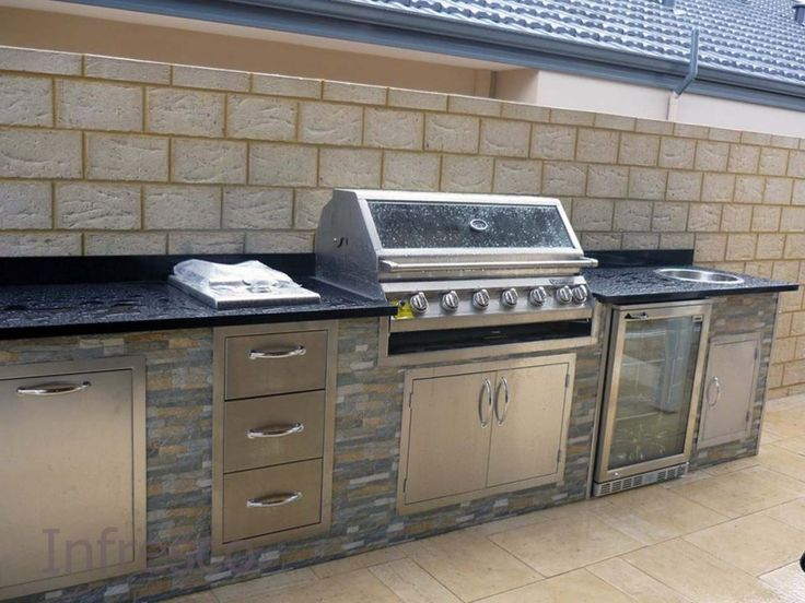 8 best Outdoor Kitchen Cabinets images on Pinterest | Outdoor ...