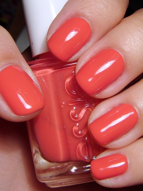 Coral is one of those colors that are just so cheery and perfect for Spring.  We love nail blogger's pick of California Coral by Essie.