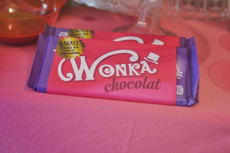 anniversaire charlie et la chocolaterie, wonka party