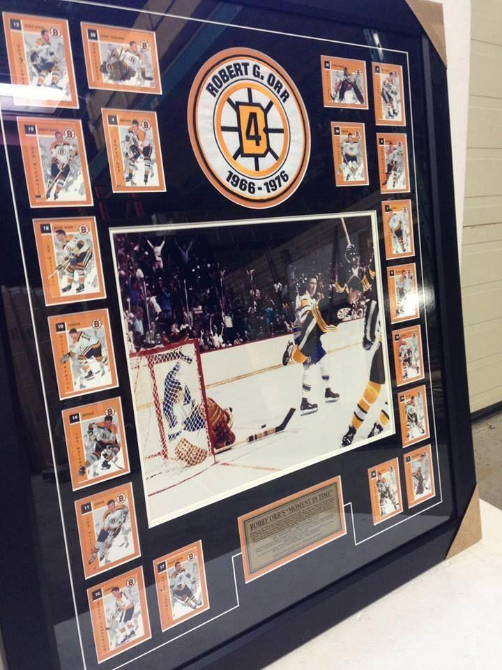 Boston Bruins memorabilia.