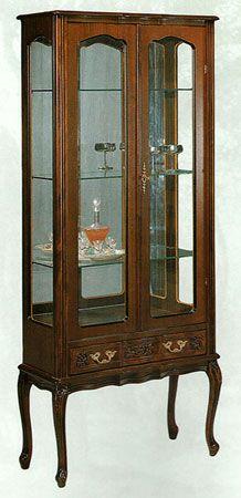vetrina con 2 porte e 1 cassetto www.mobilisaoncella.it