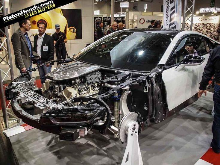BMW i8 TwinTurbo V8 4.4lit Gabura Racing Technologies
