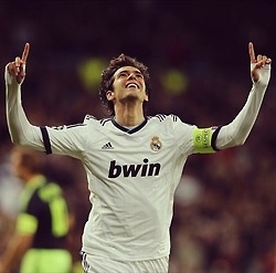 Real Madrid. Kaka  This pic is for my neighbor