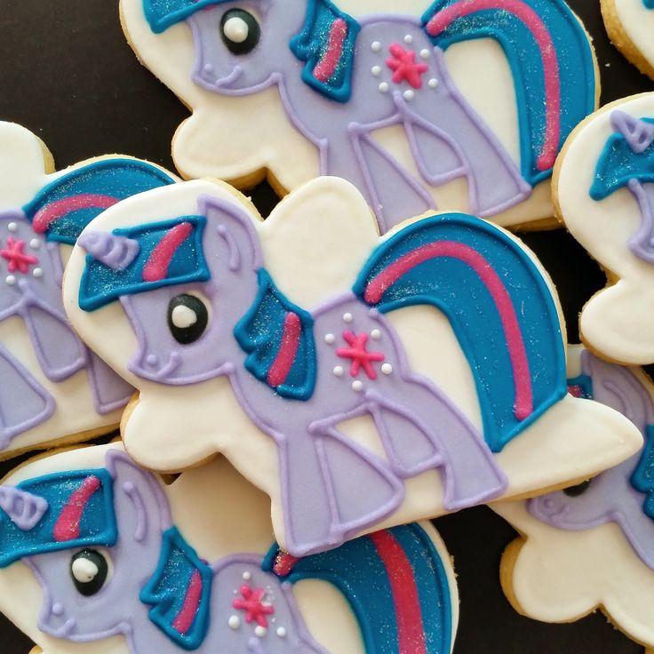 My Little Pony Twilight Sparkle Cookies Galletas