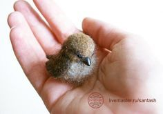 Bird Needle Felting Tutorial