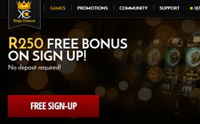 #KingChanceCasino Review By #OnlineCasinoBonus SA  Kings Chance Casino has established itself as one of the top online casinos which is open to players from South Africa and accepts payments in Rands. Sign up and claim a R250 Free Bonus – No strings attached!  http://www.onlinecasinobonus.co.za/kings-chance-online-casino-review.html