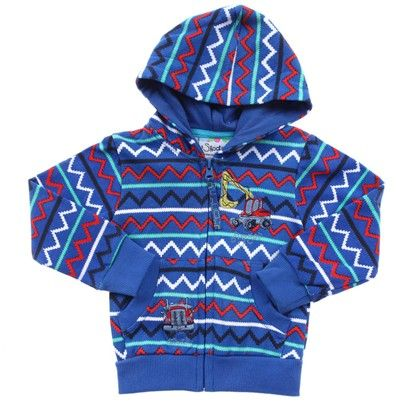 Boys  clothing  Bluezigzag  Pattern Jumper With Hood And Pockets-3216-Skootz $18.00 on Ozsale.com.au