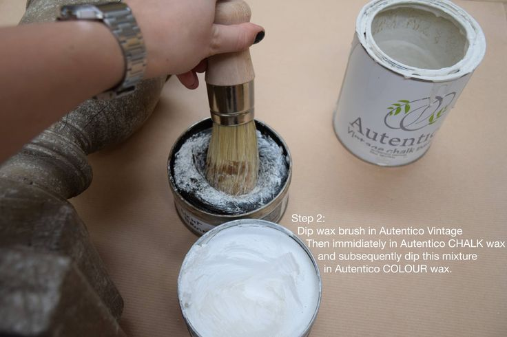 Autentico Quick-fix step 2. An easy way to make a beautiful patina.
