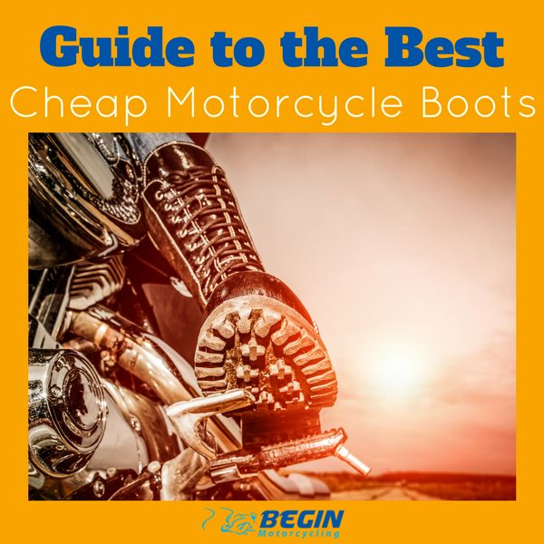 Guide to the best cheap Motorcycle Boots. #motorcycle #motorbike #safety #accessories #beginmotorcycling