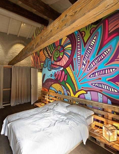 105 best images about wall mural ideas on pinterest - How to paint murals on bedroom walls ...