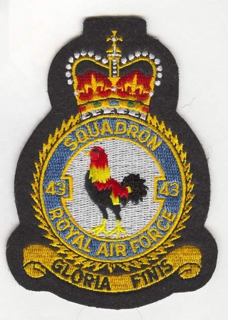 RAF 43 Sqn crest