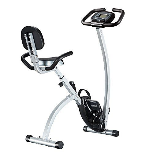 Recumbent Upright Indoor Cycling Foldable Folding Exercise Bike Health Fitness