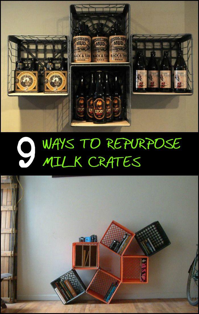 25 Best Ideas About Tool Box Dresser On Pinterest: Best 25+ Milk Crate Shelves Ideas On Pinterest
