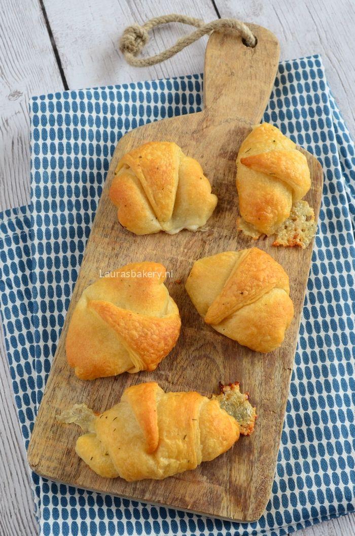 mozzarella knoflook croissants 1a