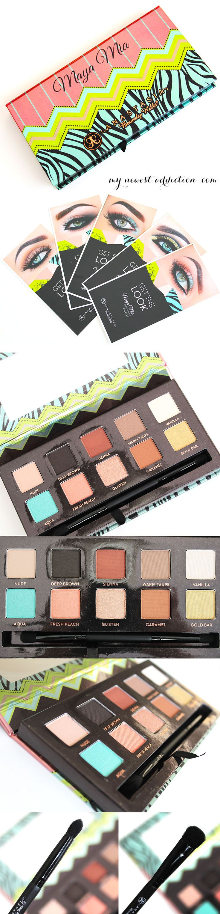 Anastasia Beverly Hills Maya Mia Palette #MakeupWars - www.mynewestaddiction.com
