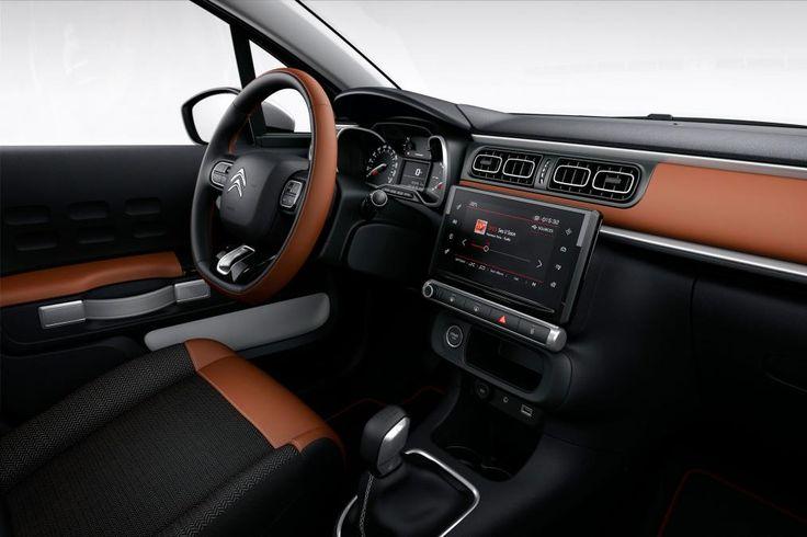 Citroen C3 2016 - interior brown 2