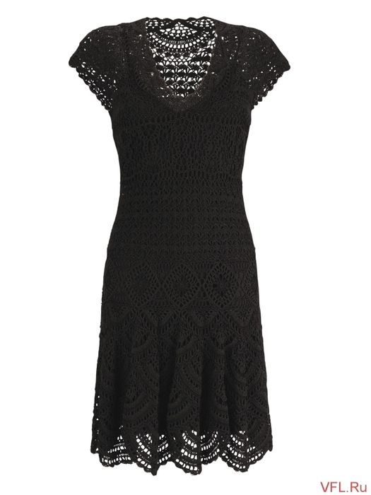 crochet dress. diagrams