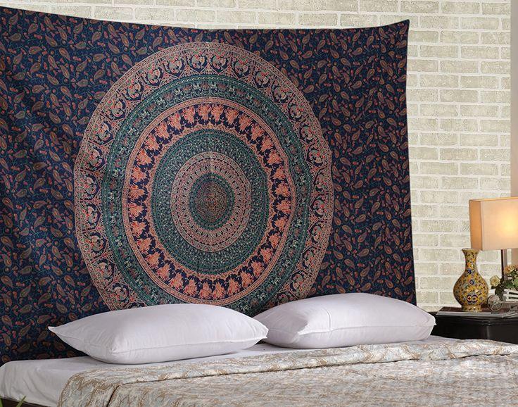 M s de 1000 ideas sobre dormitorio tapiz en pinterest for Decoracion hogar hippie