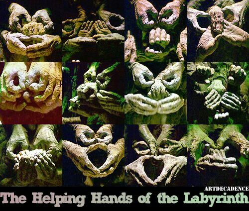 Make hand sculptures using rubber gloves and plaster to hang on the wall...