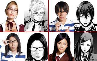Pemeran karakter Drama Jepang Prisen School