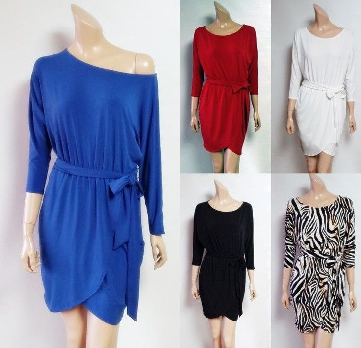 VICTORIA'S SECRET SEXY DOLMAN SLEEVE BELTED WRAP JERSEY DRESSES $70 -S,M,L,XL- -VictoriasSecret -Blouson --------US$27.99 -------------Please Click The Photo Above If You Want To Purchase It!!