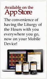 Divine Office Mobile App -- I started praying Compline (the night prayer) during Lent, and what an awesome, rich, peaceful way to end the day!  The Liturgy of the Hours is the second great prayer of the Catholic people.  The first is the Mass itself.Mobile App, Mobiles App, App Stores, Catholic App, App Area
