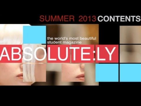 ▶ ABSOLUTELY VIDEO FASHION MAGAZINE - YouTube