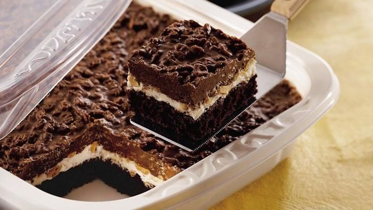 Traditional Brownie Goody Bars Recipe Candy Bars
