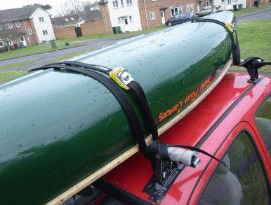 Locking #kayak Roof Rack Straps