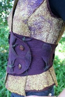 Canberra Region Feltmakers - Felt Vest Workshop with Myfanwy Stirling
