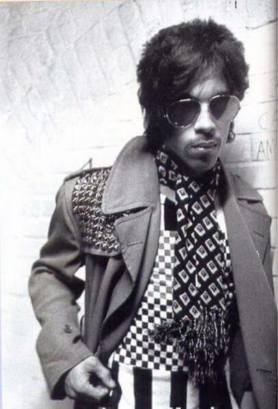 Classic Prince | 1980 Dirty Mind Additional photo from the Dirty Mind UK Tour promo photo-shoot!