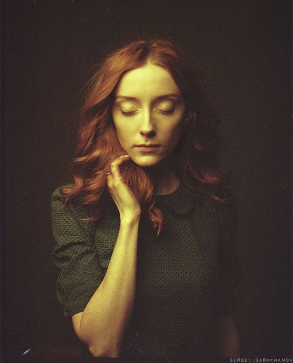 Photograph Olga Makeeva, actress by Sergei Sarakhanov on 500px