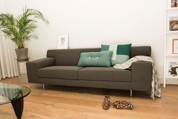 De #Flinders #Copenhagen 220 #zetel is een prachtplaatje en past door zijn strakke en eenvoudige stijl in elk interieur.