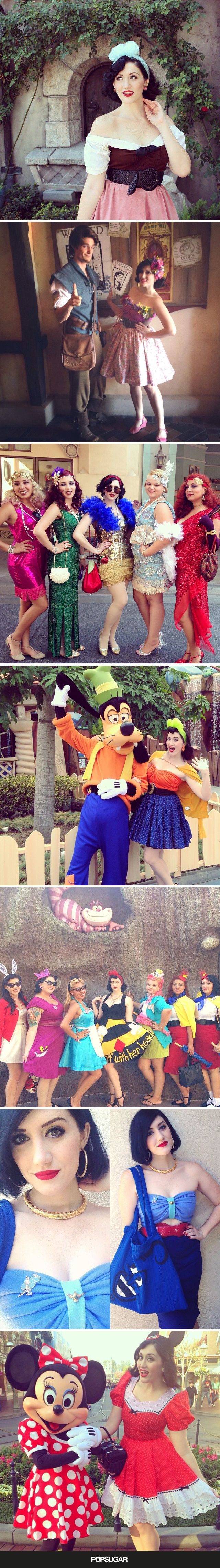 An Undercover Disney Princess Shares the Secrets of Disneybounding