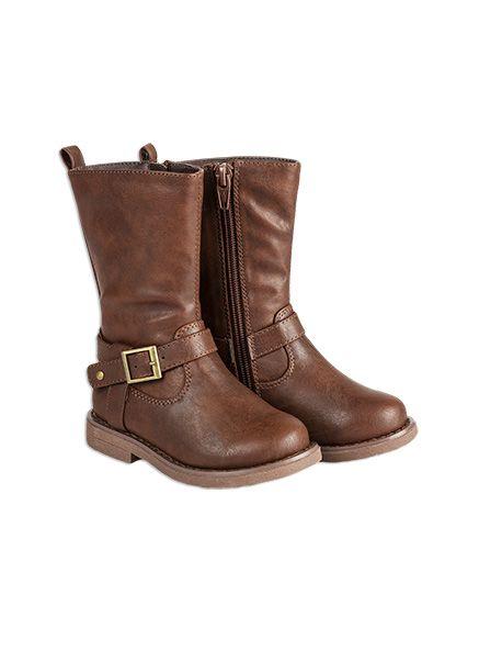 Pumpkin Patch - footwear - girls tall classic boot - W5FW50001 - chocolate - 6 to 5l