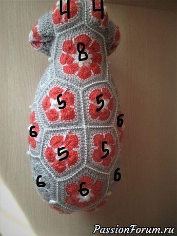 48bfa6a23576 Индийский слон из мотивов Схема - запись пользователя Екатерина в  сообществе Мир игрушки в категории Вязаные игрушки. Мастер-классы, схемы, …