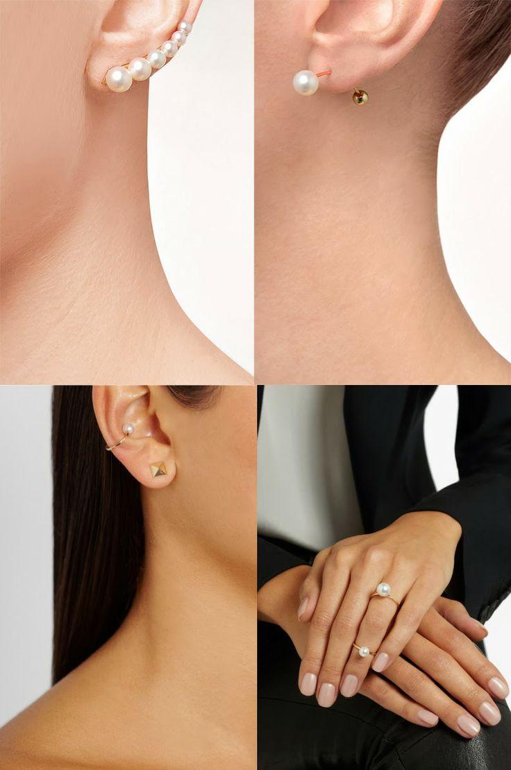 2nd ear piercing ideas   best Ear piercing images on Pinterest  Piercing ideas Ears and