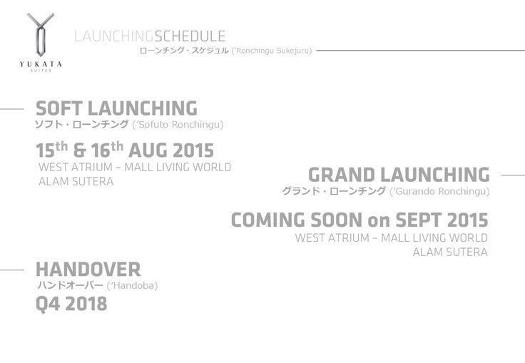 Yukata Suites Launching and Handover.