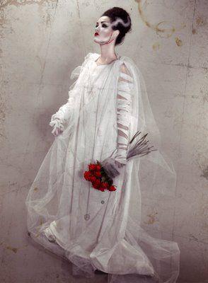 delineation and illumination: bride of frankenstein costume