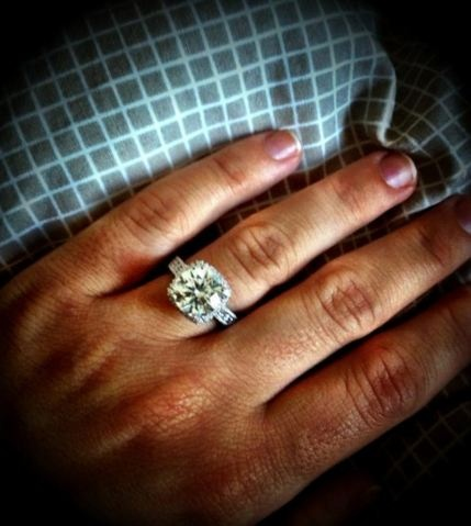Photo Credit: Milan Lucic engaged to Brittany Carnegie    Oh my god it's perfect.