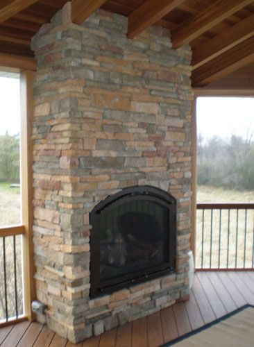 River Rock Fireplace Refacing | ... To Reface A Brick ...